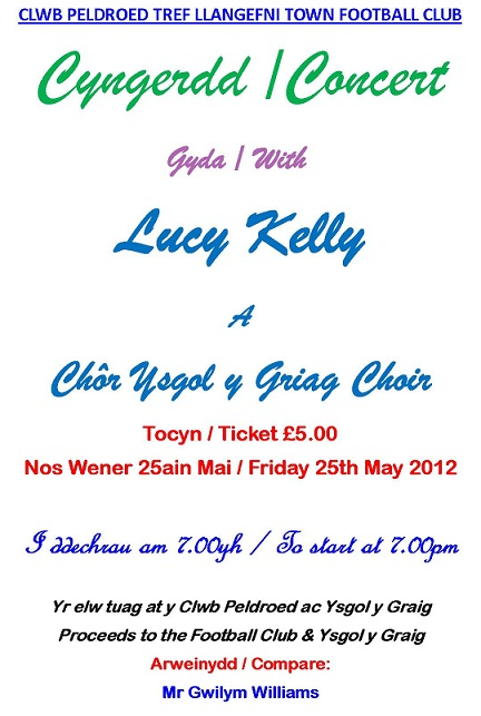 Friday 25th May Concert