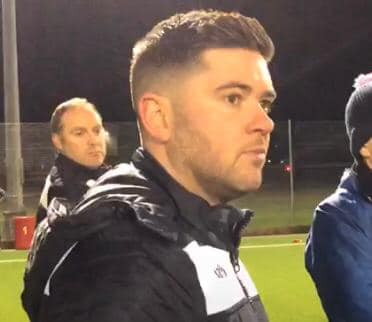 """I WANT TO DO IT FOR OUR FANS AND THE TOWN OF LLANGEFNI"" says manager Chris Roberts."