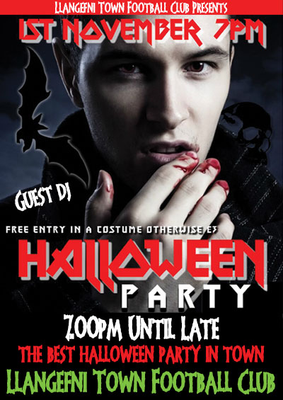 THE BEST HALLOWEEN PARTY IN TOWN